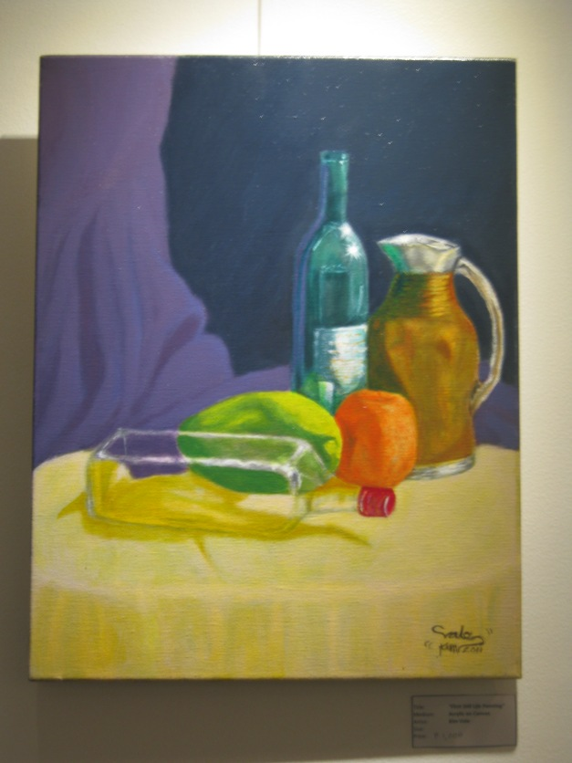 First Still Life Painting